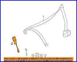 BMW OEM 96-00 Z3 Front Seat Belt-Buckle Left 72118261651