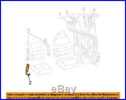BRAND NEW OEM RH FRONT SEAT BELT BUCKLE FORD F250 F350 SD F150 #1L7Z-7861202-AAE