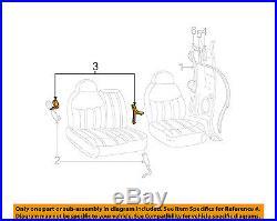 BRAND NEW OEM RH PASSENGER SIDE GRAPHITE SEAT BELT BUCKLE 2001-2004 FORD F-150