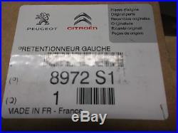 Belt buckle Seat belt Buckle stalk Original CITROEN Replacement part 8972S1