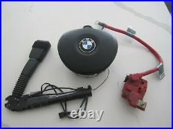 Bmw 3 Series E90 E92 Steering Wheel Sport Air Bag Seat Belt Buckle 325 328 335