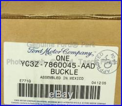 Brand New Oem Lh 2nd Row 60/40 Bench Seat Belt & Buckle 2000-2001 Ford Excursion