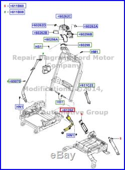 Brand New Oem Lh Front Seat Belt Buckle Black 2005-2007 Ford F250 F350 F450 F550