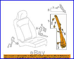 Buick GM OEM 11-13 LaCrosse Front Seat-Belt & Buckle Retractor Left 19256884