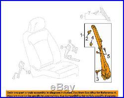Buick GM OEM 11-13 LaCrosse Front Seat-Belt & Buckle Retractor Right 19256881