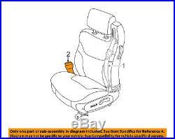 CHRYSLER OEM 01-04 Sebring Front Seat Belt-Buckle End Left YP411T5AD