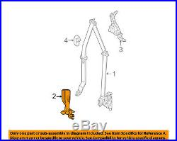 CHRYSLER OEM Front Seat Belt-Buckle End Left 1DF311D1AD