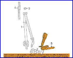 CHRYSLER OEM Front Seat Belt-Buckle End Left 1HZ171X9AE