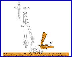 CHRYSLER OEM Front Seat Belt-Buckle End Left 1HZ171X9AF