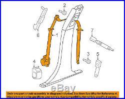 CHRYSLER OEM Front Seat Belt Buckle-Retractor Assy Left XS41DX9AE