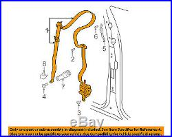 CHRYSLER OEM Front Seat Belt Buckle-Retractor Assy Right 5HP581D5AG