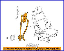 CHRYSLER OEM Front Seat Belt Buckle-Retractor Assy Right 5KJ60XDVAF