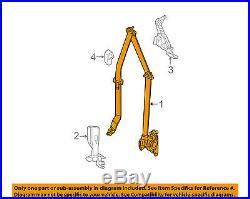 CHRYSLER OEM Front Seat Belt Buckle-Retractor Assy Right ZV681X9AH