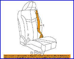 CHRYSLER OEM Sebring Front Seat Belt Buckle-Retractor Assy Right 1JV70XT1AA