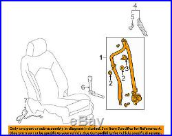 Cadillac GM OEM 11-16 SRX Front Seat-Belt & Buckle Retractor Left 19301478