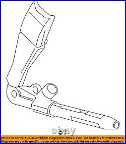 Cadillac GM OEM 13-18 ATS Front Seat Belt-Buckle Tensioner 19352487