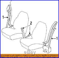 Cadillac GM OEM Eldorado Front Seat Belt Buckle-Retractor Assy Left 12524219