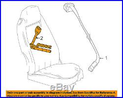 Chevrolet GM OEM 06-12 Corvette Front Seat Belt-Buckle End Right 19151078