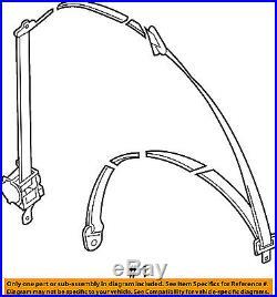 Chevrolet GM OEM 09-11 Aveo Front Seat-Belt & Buckle Retractor Right 96866948