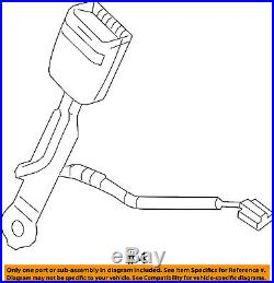 Chevrolet GM OEM 12-15 Camaro Front Seat Belt-Buckle Right 19257766