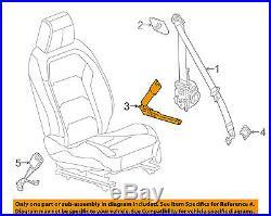 Chevrolet GM OEM 16-18 Camaro Front Seat Belt-Buckle Tensioner Left 19333450