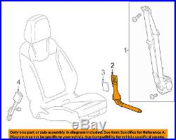 Chevrolet GM OEM 16-18 Malibu Front Seat Belt-Buckle Tensioner Right 19368320