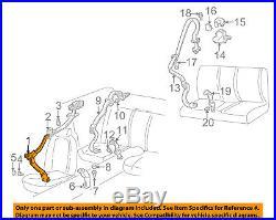 Chevrolet GM OEM Camaro Front Seat Belt Buckle-Retractor Assy Right 88896035