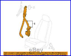 Chevrolet GM OEM Cobalt Front Seat Belt Buckle-Retractor Assy Right 19181790