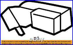 Chevy Suburban Black Rear Driver Side Seat Belt Buckle 2007-2014 New Oe 19121589