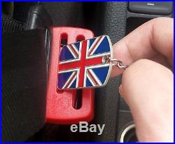 Child Protect Lock Guard Baby Car Seat Secure Release Key Car Seat Belt Buckle