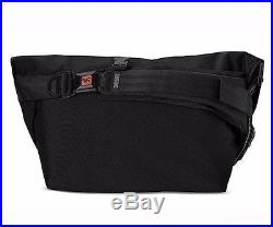 Chrome CITIZEN All Black Seat-belt Buckle Weatherproof Laptop Messenger Bag
