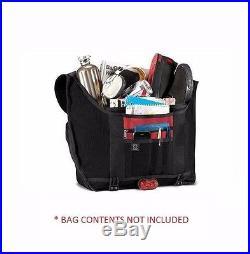 Chrome CITIZEN Black Red Chrome Seat-belt Buckle Weatherproof Messenger Bag
