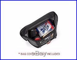 Chrome MINI METRO Grey Black Chrome Seat-belt Buckle Weatherproof Messenger Bag