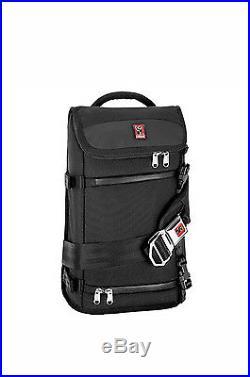 Chrome NIKO Black Chrome Seat-belt Buckle Padded Strap Camera Messenger Bag