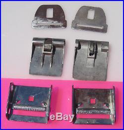 Corvette 1958 1959 1960 1961 1962 Seat Belt Buckle Parts Paddle Cinch Chrome
