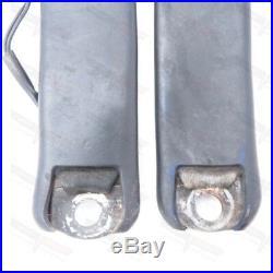 Corvette Original Seat Belt Receiver Pair Black 1978-1982