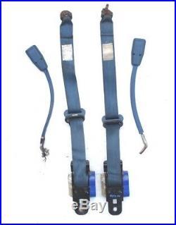 Datsun 720 Pickup Truck Seat Belts BLUE Nissan Belt Buckle OEM Left Right Side