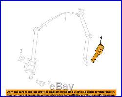Dodge CHRYSLER OEM 12-16 Challenger Front Seat Belt-Buckle End 1HZ101DVAE