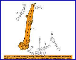 Dodge CHRYSLER OEM Dart Front Seat Belt Buckle-Retractor Assy Left 1SV73DX9AE