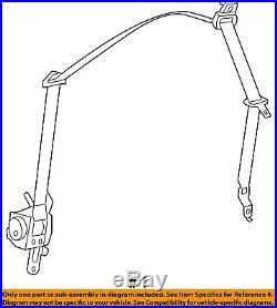 Dodge CHRYSLER OEM Front Seat Belt Buckle-Retractor Assy Left 1SG57XDVAH