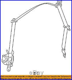 Dodge CHRYSLER OEM Front Seat Belt Buckle-Retractor Assy Right 1SG571R5AG