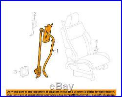 Dodge CHRYSLER OEM Nitro Front Seat Belt Buckle-Retractor Assy Right 1KE981DVAB