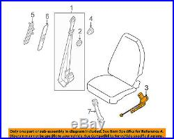 FORD OEM 08-14 E-350 Super Duty Front Seat Belt-Buckle Right 8C2Z1561202BA