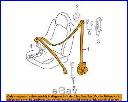 FORD OEM 10-12 Escape Front Seat Belt Buckle-Retractor Assy Left AL8Z78611B09AB