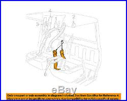 FORD OEM 2006 Ranger Front Seat Belt-Buckle End Left 6L5Z1061203AAA