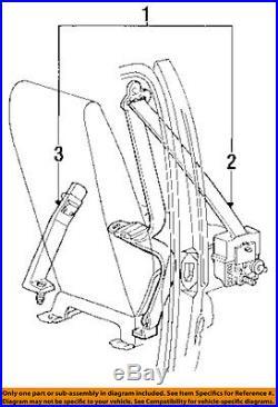 FORD OEM 91-97 Aerostar Front Seat Belt-Buckle Right F59Z1161202D