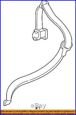 FORD OEM Freestyle Rear Seat Belt-Buckle Retractor Assembly Left 6F9Z74611B69BA