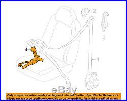 FORD OEM Front Seat Belt-Buckle End 6L8Z7861203BA