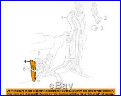 FORD OEM Front Seat Belt-Buckle End Left BW7Z5461200BC
