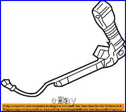 FORD OEM Front Seat Belt-Buckle End Right 7T4Z7861202AB